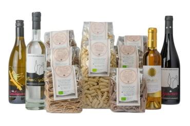 cestini regalo di prodotti biologici