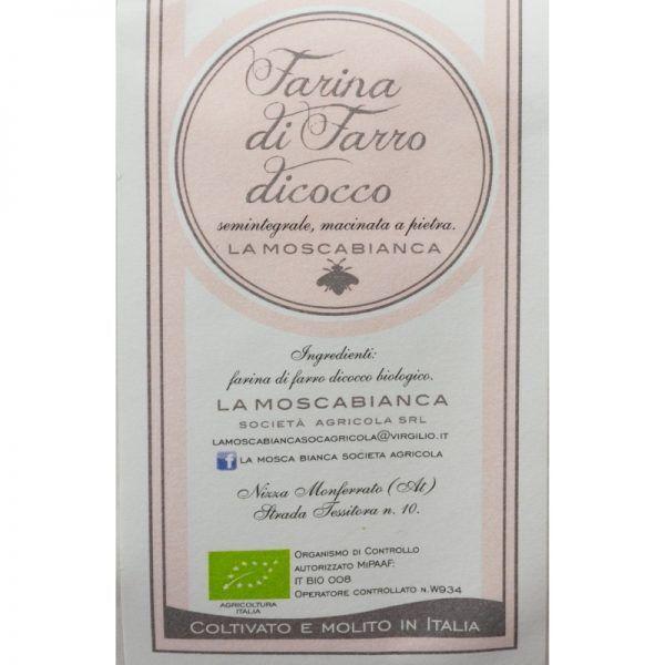 farina-farro-biologico-italiano La Mosca Bianca Bio