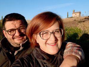 Barbara e Corrado de La Mosca Bianca prodotti biologici