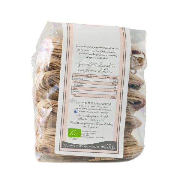 tagliolini-farro-biologico italiano, nizza monferrato